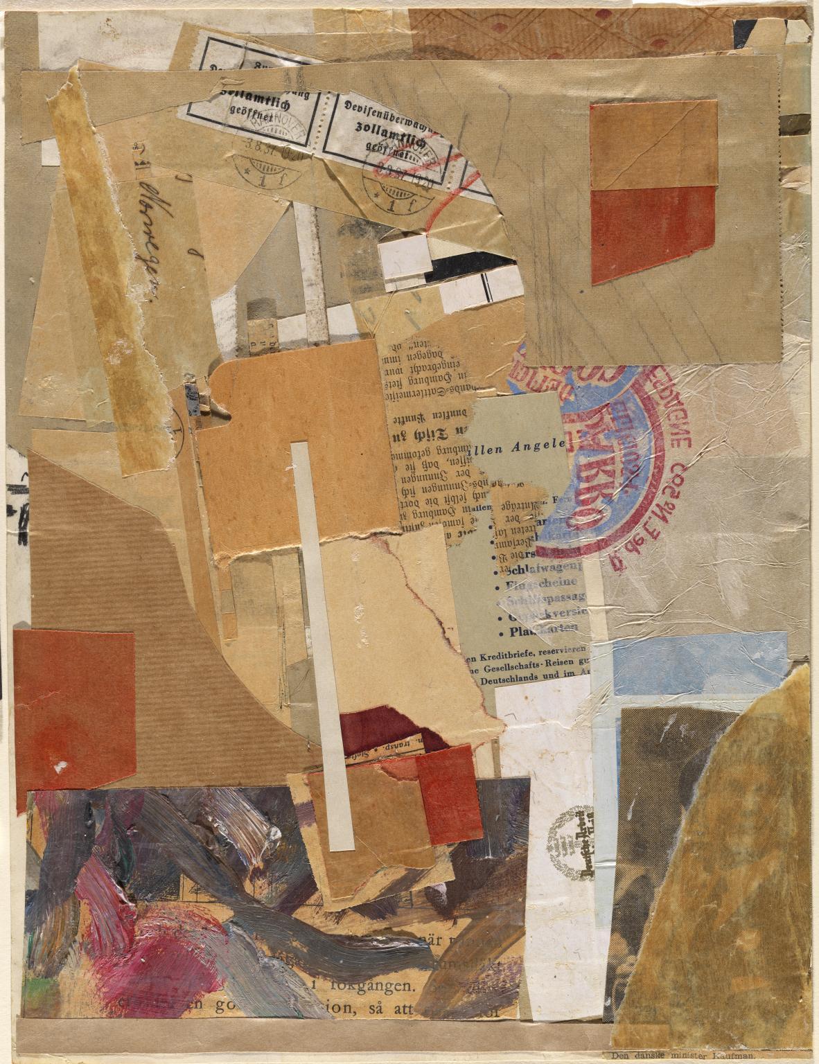 Kurt Schwitters, Opened by Customs 1937–8